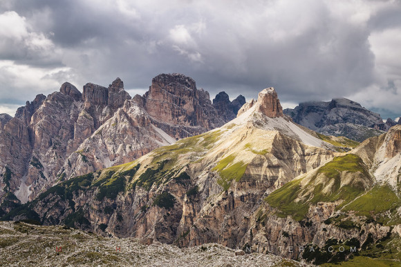 Afternoon Light, Dolomites