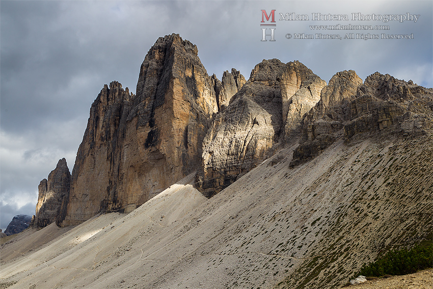 Afternoon Light on Tre Cime