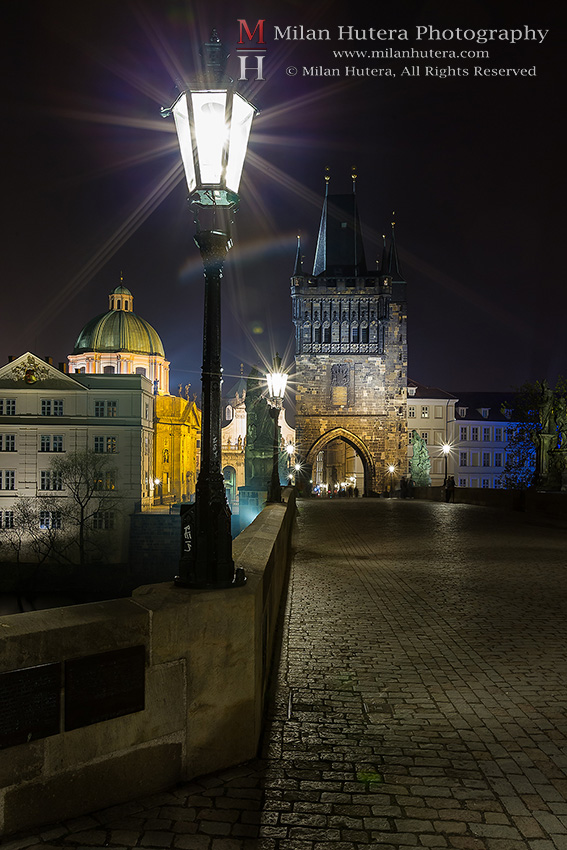 Lights of Charles' Bridge