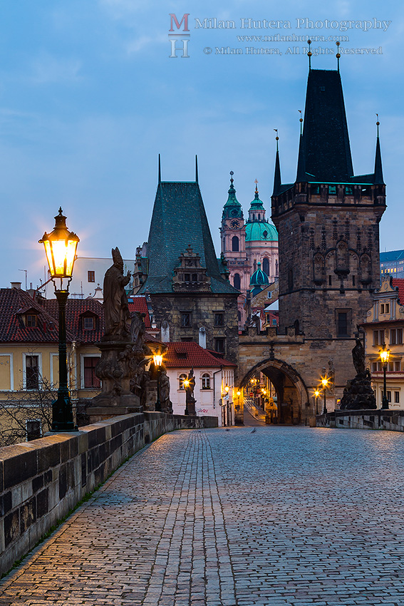 Charles' Bridge Towers, Prague