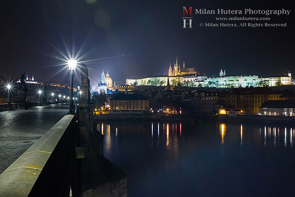 Charles' Bridge and Prague Castle