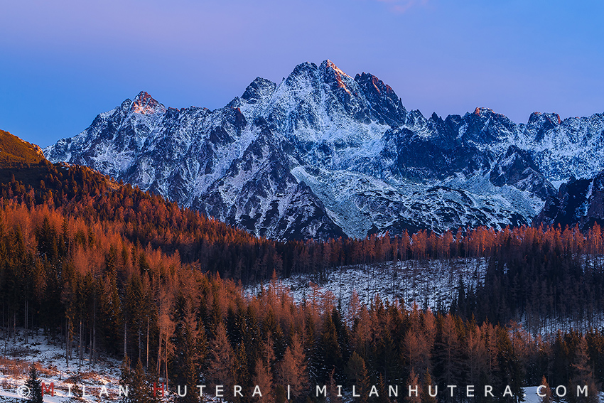 Crown of High Tatras, Morning