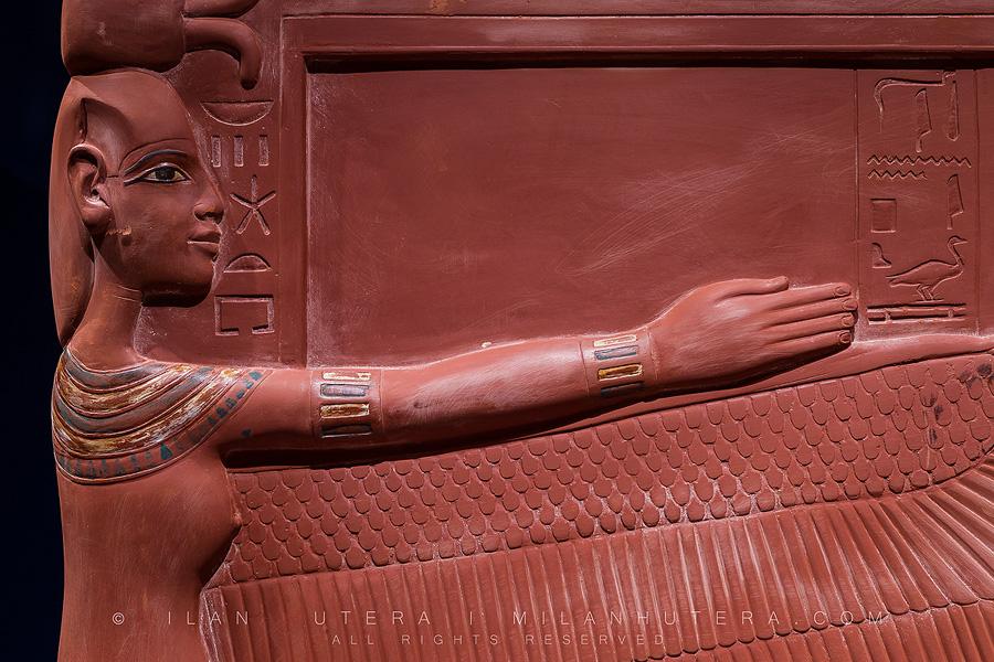 Stone Sarcophagus Detail