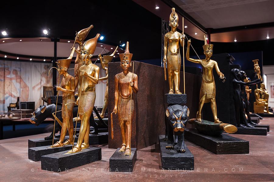 Statuettes of Tutankhamun