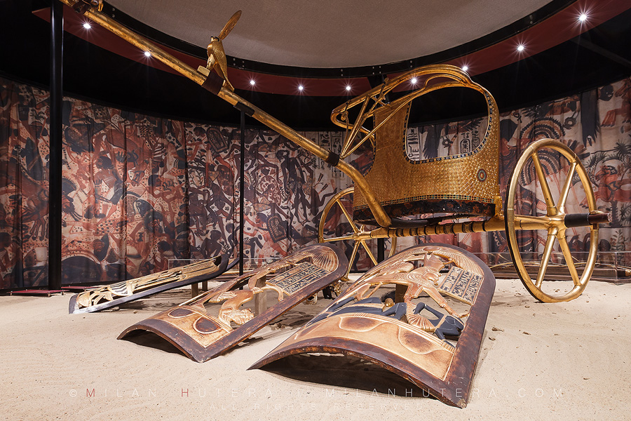 Tutankhamun's chariot – used for parades