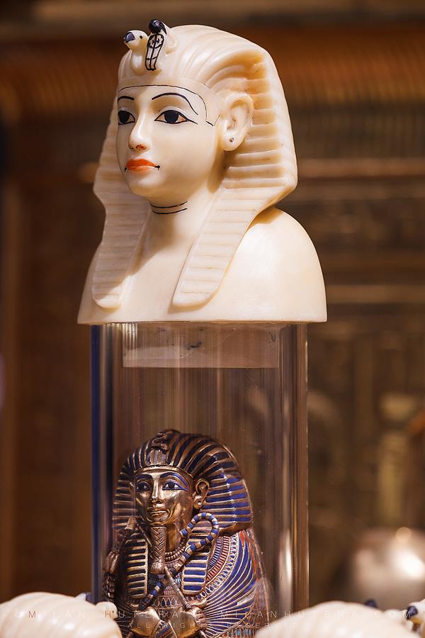 Tutankhamun's canopic jar