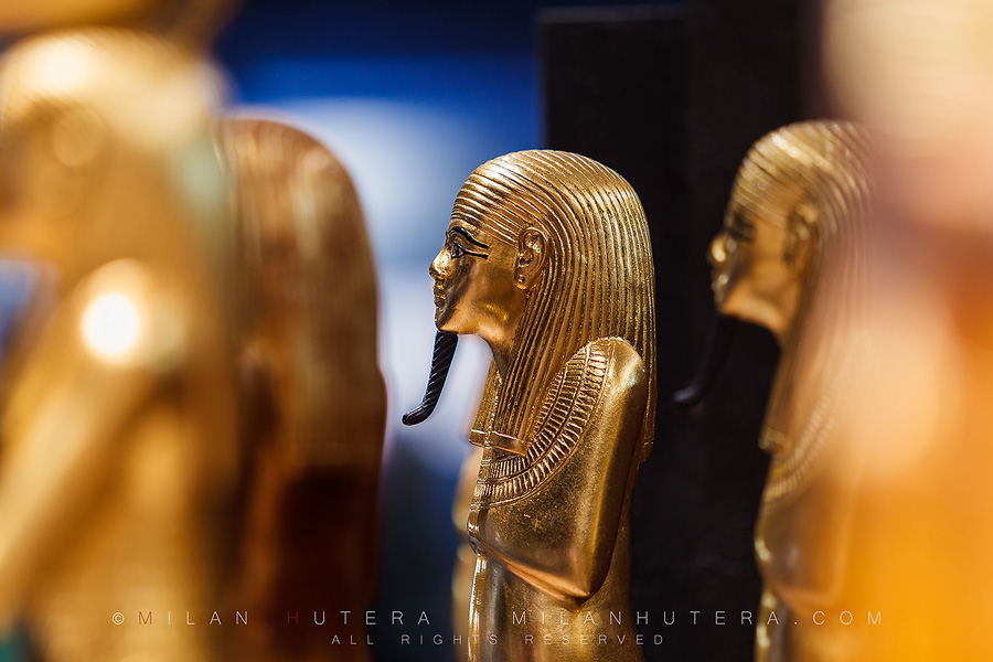Statuettes of Tutankhamun – a detailed view 2