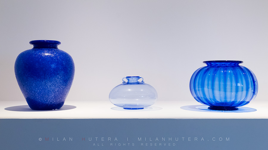 The glass workshops on Murano island, close to Venice, were the leading manufacturers of high quality and cutting-edge glass ware and artistic objects. Today, the fine examples of their work is displayed in the Museum of Glass, or Museo del Vetro.