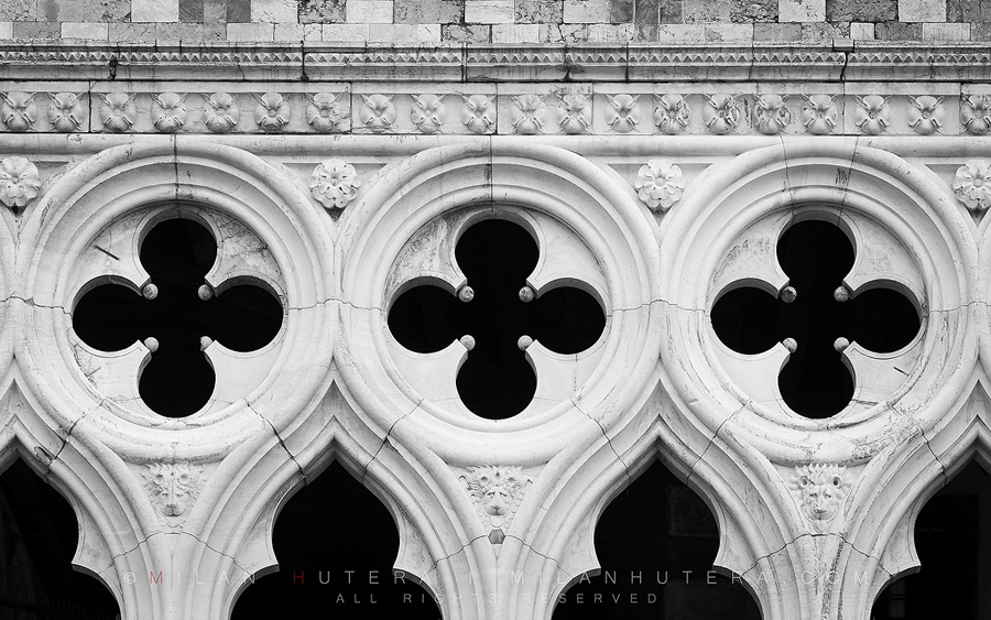 Doge's Palace Arch Detail