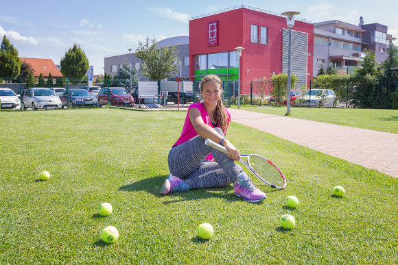 Daria Kasatkina and her home