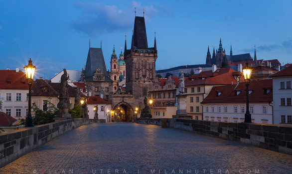 Mala Strana Dawn, Prague, Czech Republic