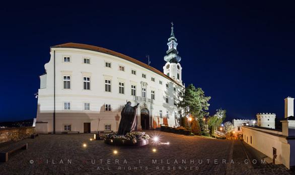 Nitra Castle Twilight Hour, Nitra, Slovakia