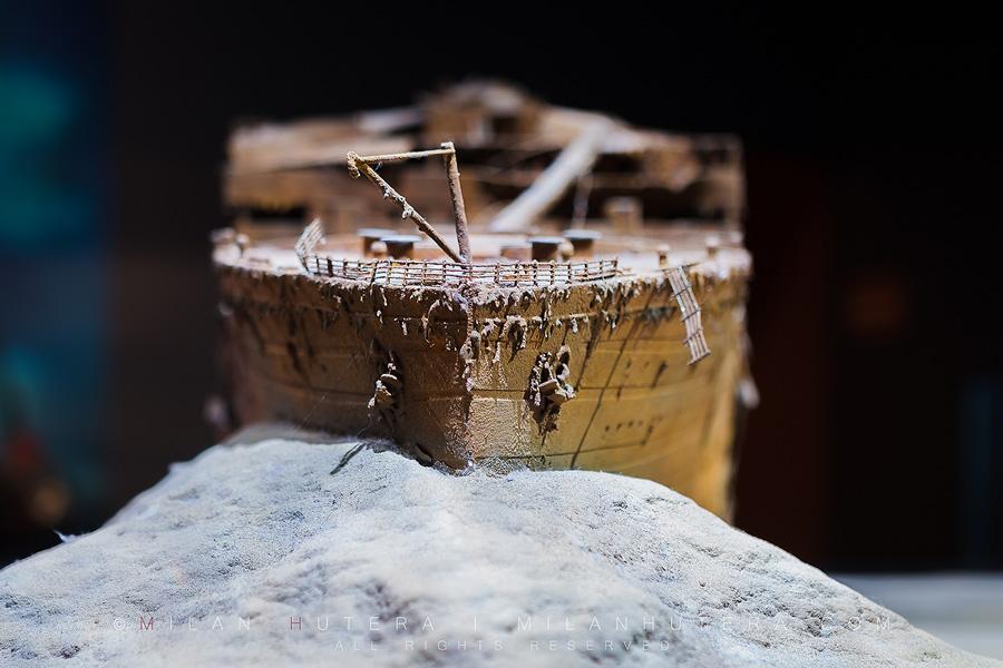 Real titanic artifacts - bing images.
