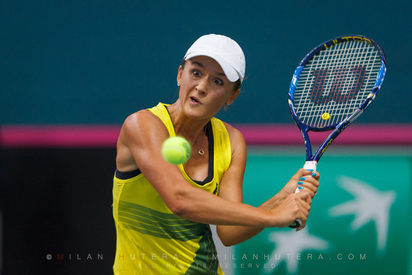 Many faces of Arina Rodionova