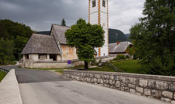 Bohinj Church, Slovenia