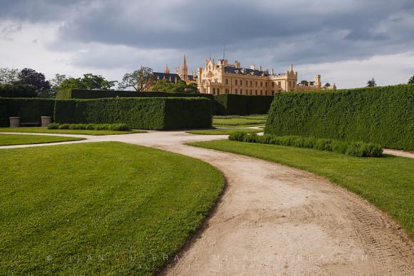 Lednice Castle Gardens, Moravia, Czech Republic