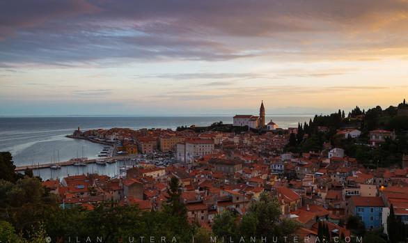 Purple Morning, Piran, Slovenia