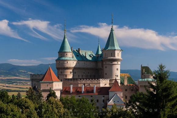 Bojnice Castle Afternoon, Slovakia