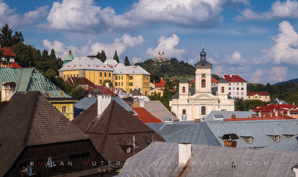 Banska Stiavnica Rooftops, Slovakia
