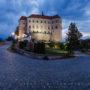 Mikulov Castle Dawn, Moravia, Czech Republic