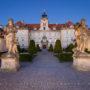 Valtice Castle Dawn, Moravia, Czech Republic