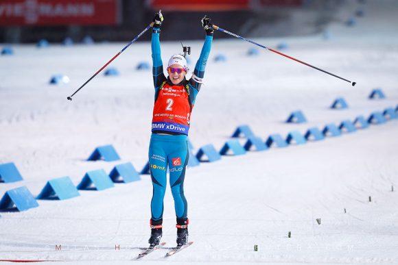 Anais Chevalier wins NMNM 2016 Pursuit