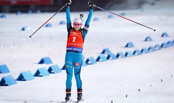 Anais Chevalier wins NMNM 2016 Pursuit