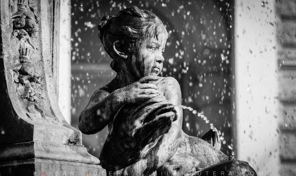 Fountain of Ganymede Detail, Bratislava, Slovakia