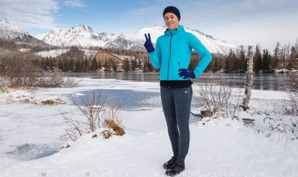 Anna Karolina Schmiedlova in High Tatras