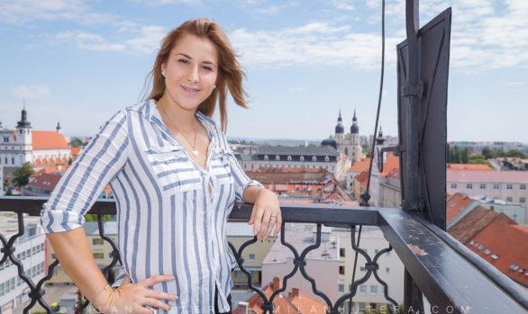 Belinda Bencic in Trnava
