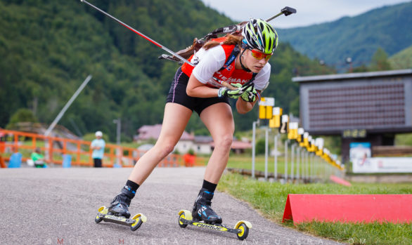 Ivona Fialkova Summer Biathlon