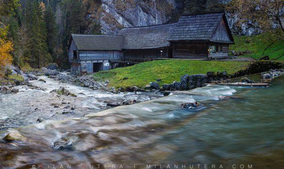 Oblazy Water Mill, Liptov, Slovakia