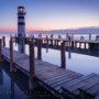 Podersdorf Lighthouse Twilight