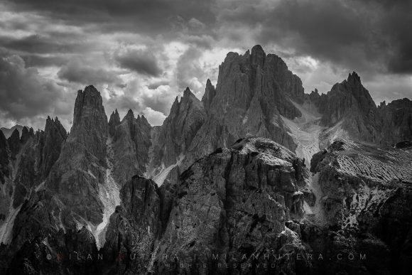 Dark Towers - Cadini di Misurina, Dolomites, Italy