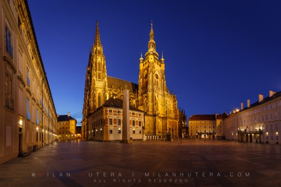 Saint Vitus Cathedral Twilight